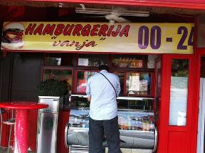Hamburgerija Vanja