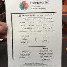 K-Elements BBQ