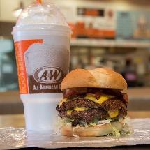 A&W Burgers Chicken Floats
