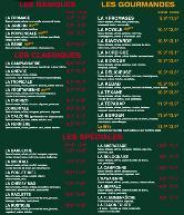 carte kiosque a pizza KIOSQUE A PIZZAS ETAMPES pizzeria, Étampes   Restaurant menu and