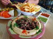 Hummus Ngoa- حمص نجوى (Market Dahlia) restaurant, Daliyat al