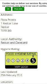Pizza Pronto In Redcar Restaurant Menu And Reviews