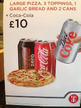 Pizza Time Antrim In Antrim Restaurant Menu And Reviews
