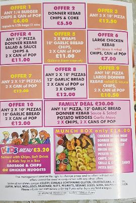 Quality Pizza Carlisle Restaurant Menu Restaurant Guru