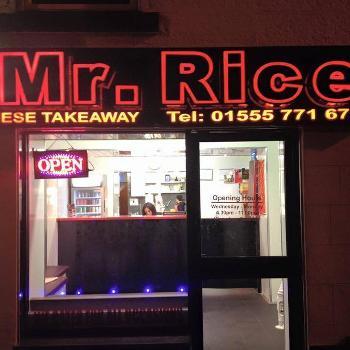 Mr Rice Carluke Just Eat Restaurant Menu And Review