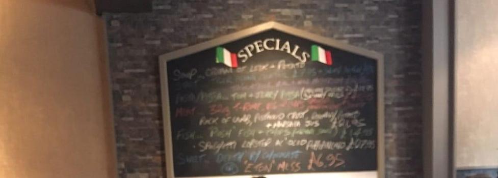 Il capo airdrie restaurant menu restaurant guru - Il giardino clevedon ...