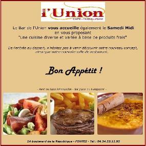 L'Union Café Restaurant Pizzeria