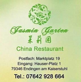 Chinarestaurant Jasmin Garten