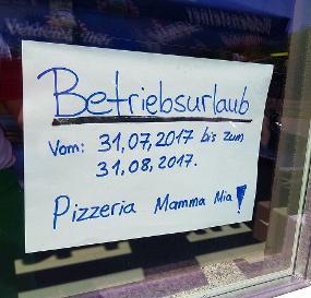 Pizzeria Mamma Mia Erlangen