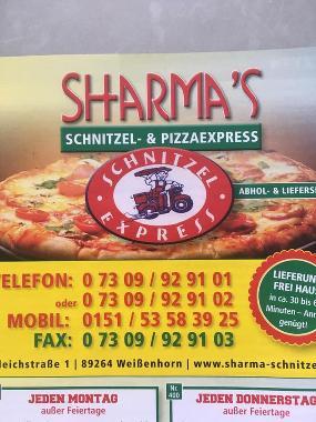Sharma Pizza Schnitzel House + Express