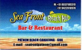 Sea Front Beach Huts Bar & Restaurant