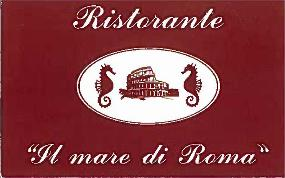 """ristorante """"Il mare di Roma"""" cucina romana e pesce fresco a bologna"""
