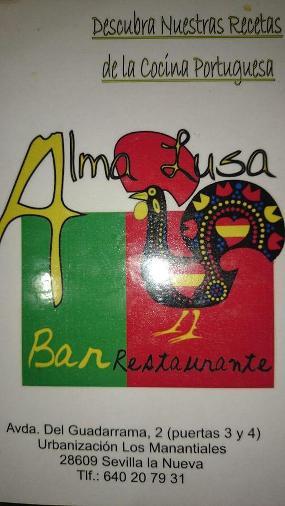 Bar Restaurante Alma Lusa