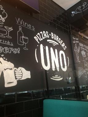 Uno Pizzas Burgers