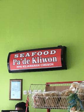 Warung Seafood dan Ikan Bakar Pa Kliwon