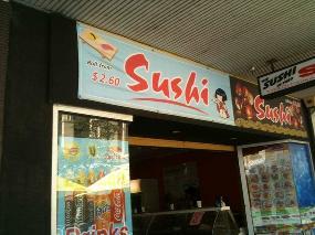 Sushi in Freo