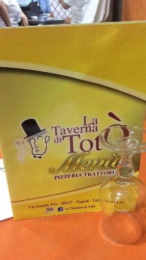 Pizzeria e trattoria 'La taverna di Totò'
