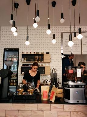 Man Versus Machine Coffee