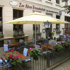 """Gasthaus """"Zur Alten Freundschaft"""" mit Kegelbahn"""