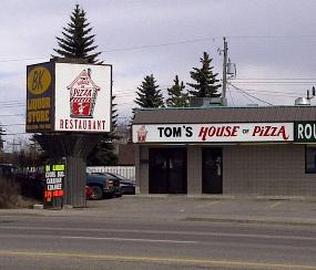 Tom's House Of Pizza
