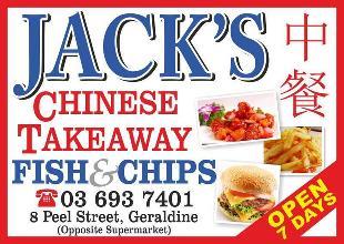Jack's Chinese Takeaway
