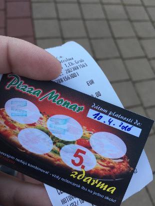 Pizza MONAR