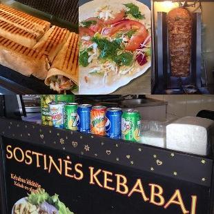 """Sostines Kebabai""""stotis"""""""