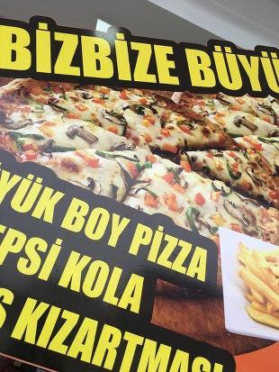 Snoopy pizza körfez