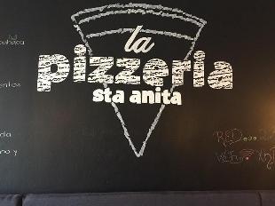 La pizzeria Santa Anita