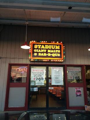 Stadium Giant Malts & Bar-B-Que
