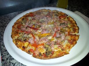 Pizza bei Toni