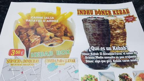 Indhu Döner Kebab In Ferrol Restaurant Reviews