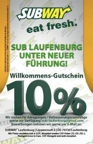Subway Fast Food Magdeburg Universitatspl 3