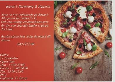 rayans pizzeria åstorp