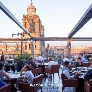 El Balcón Del Zócalo Restaurant Mexico City Av 5 De Mayo