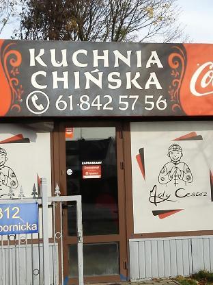Maly Cesarz Restaurant Poznan Obornicka 312 Restaurant Menu
