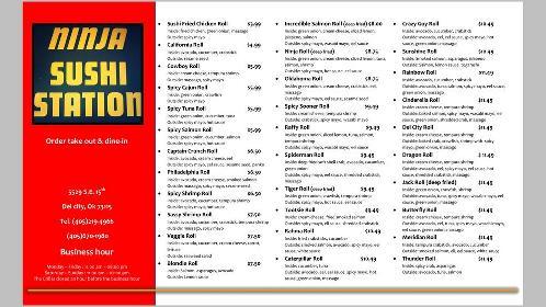 Ninja Sushi 5529 Se 15th St In Del City Restaurant Reviews 300 ryders ln, milltown, nj 08850. ninja sushi 5529 se 15th st in del