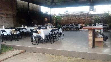 Restaurante Terraza Para Fiestas Rojo Adobe Guadalajara