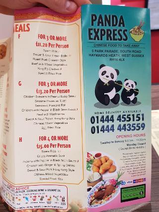 Panda Town In Haywards Heath Restaurant Reviews