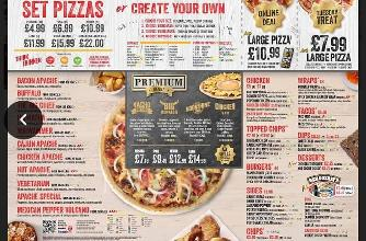 Apache Pizza In Enniskillen Restaurant Menu And Reviews