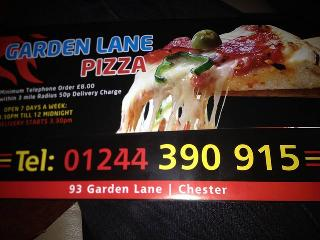 Garden Lane Pizza In Chester Restaurant Menu And Reviews