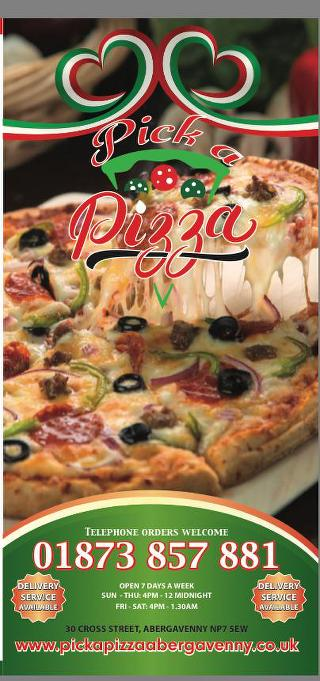 Pick A Pizza In Abergavenny Restaurant Menu And Reviews