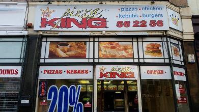 Pizza King 11 Church Street In Preston