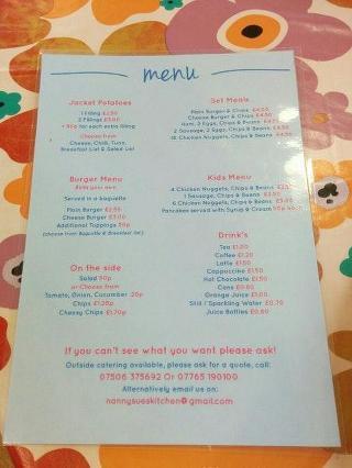 Nanny Sue S Kitchen In Basingstoke Restaurant Reviews