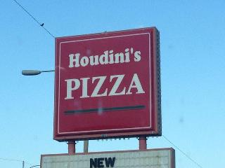 Houdinis Pizza In Kingman Restaurant Menu And Reviews
