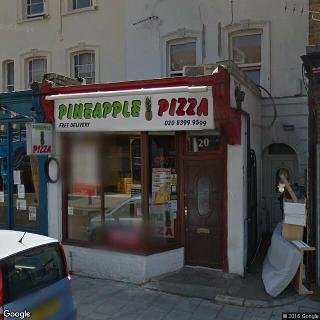 Pineapple Pizza 20 Berrylands Rd In Kingston Upon Thames