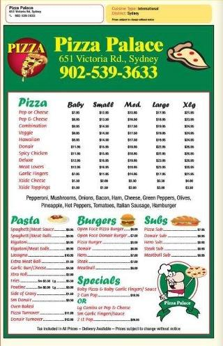 Pizza Palace In Sydney Restaurant Reviews