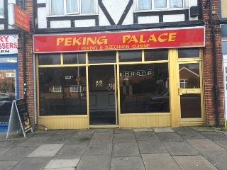 Peking Palace 10 Glebe Avenue In Ickenham Restaurant Menu