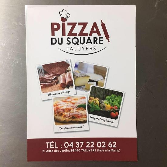 Pizza Du Square Pizzeria Taluyers Restaurant Reviews