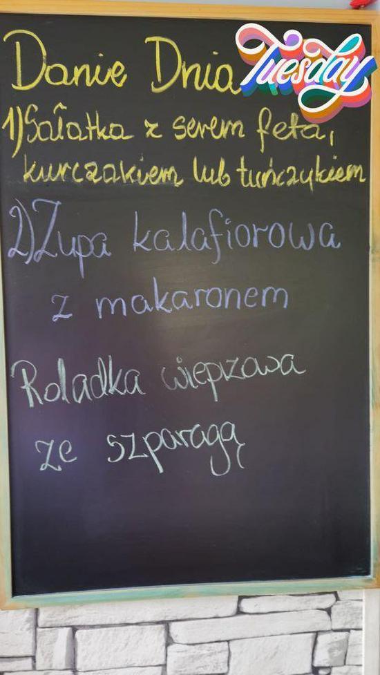 Menu At Kuchnia U Pysiaczka Restaurant Skawina